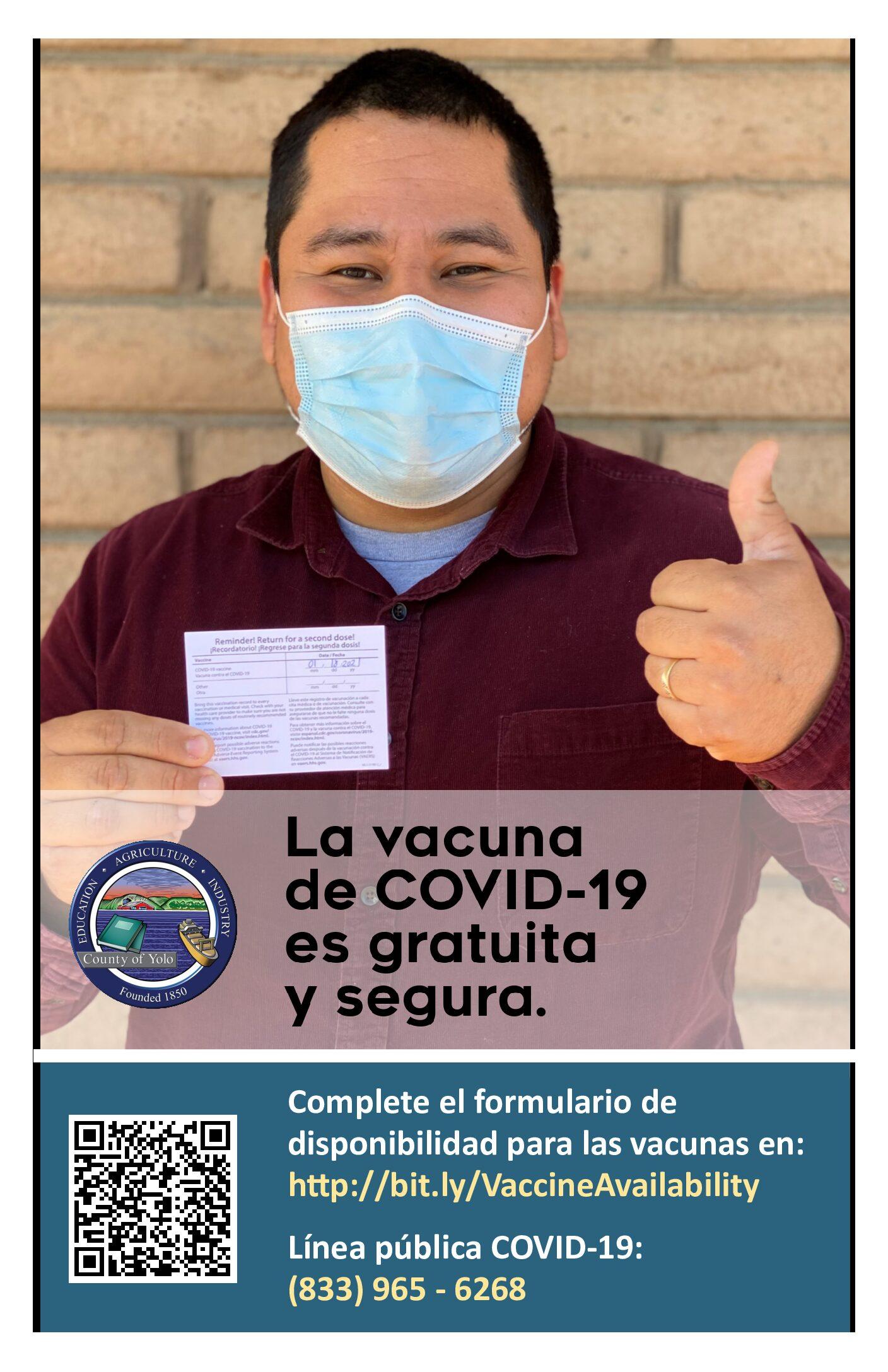 COVID Vaccine Poster (Spanish)